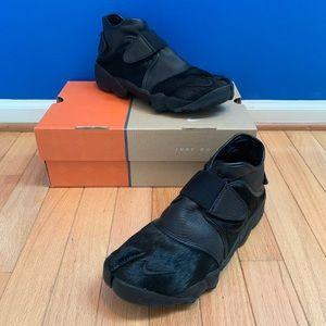 Nike Air Rift Black Pony Hair Sneakers Men's 9